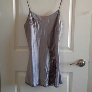 VS short gown purple lace sz S